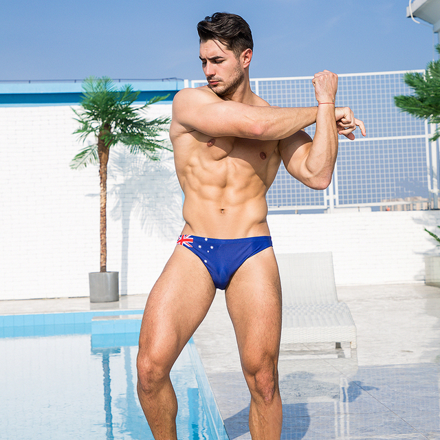 Sexy Summer Flag Swimming Trunk 2