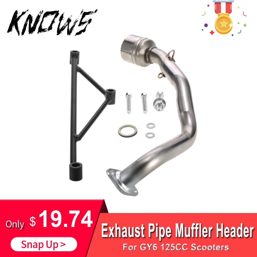 Muffler-Header Mounting-Bracket-Set Part-Accessory Scooter Engine Motorcycle-Replacement