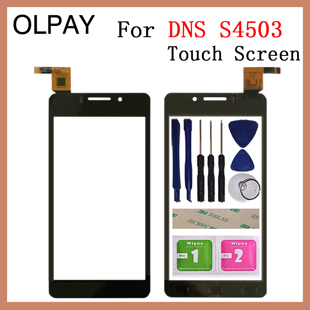 Mobile Phone TouchScreen 4.5'' For DNS S4503 S4503Q Innos I6 I6c Touch Screen Glass Digitizer Panel Lens Sensor Glass Repair