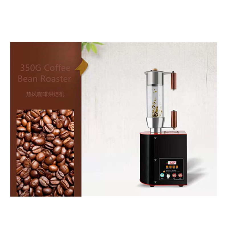 Small coffee roaster for coffee beans roasting hot air coffee baking  machine image