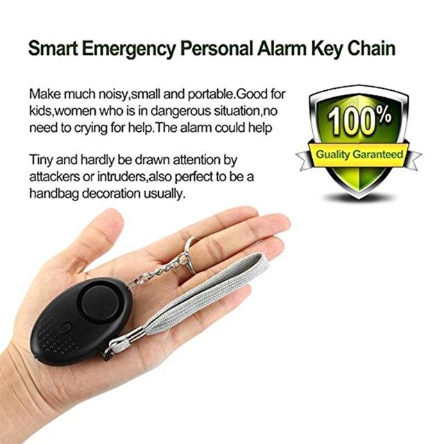 Self-Defense LED Light Safety Key Chain Pedant for Woman Kids Elderly 3