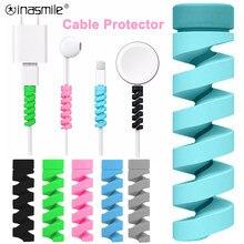 2-10 pièces protecteur de câble de charge pour téléphones support de câble couverture câble enrouleur pince pour USB chargeur cordon gestion câble organisateur