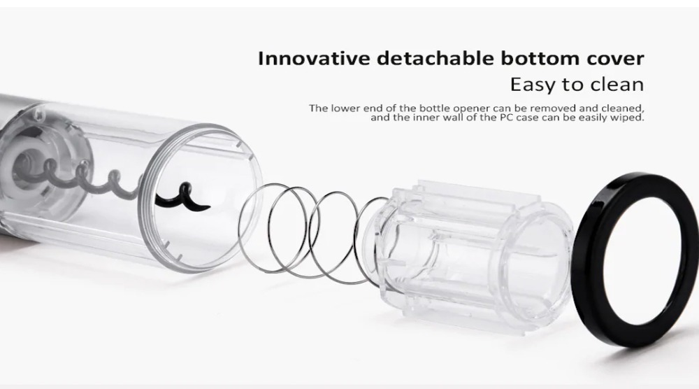 Circle Joy Stainless Steel Electric Bottle Opener