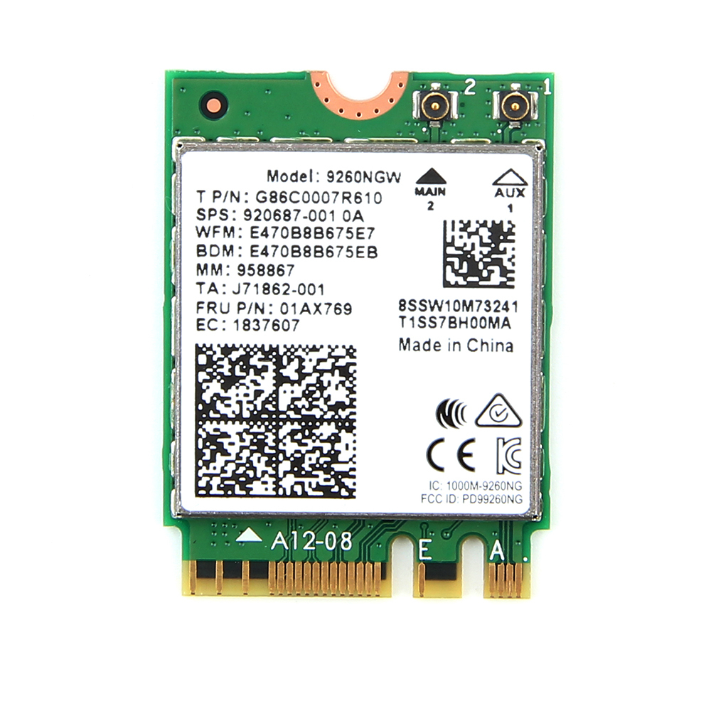 Image 3 - Dual Band Wifi 6  Wireless 2400Mbps AX200NGW NGFF M.2 Wlan Bluetooth 5.0 Wifi Card 802.11ac/ax For Intel AX 200 With antennasNetwork Cards   -
