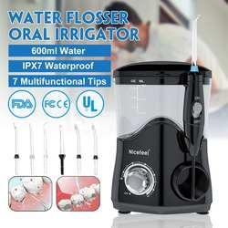 7 Nicefeel bico Irrigador Dente Escovação Relógio de Pulso De Água Irrigador Oral Irrigador Dental Jato De Água para Escovar Os Dentes Mais Limpo