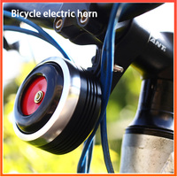 USB Charging 1300 mAh Bicycle Bell Electric Horn With Alarm Loud Sound for M365 MTB Bike Handlebar Safety Anti theft Alarm