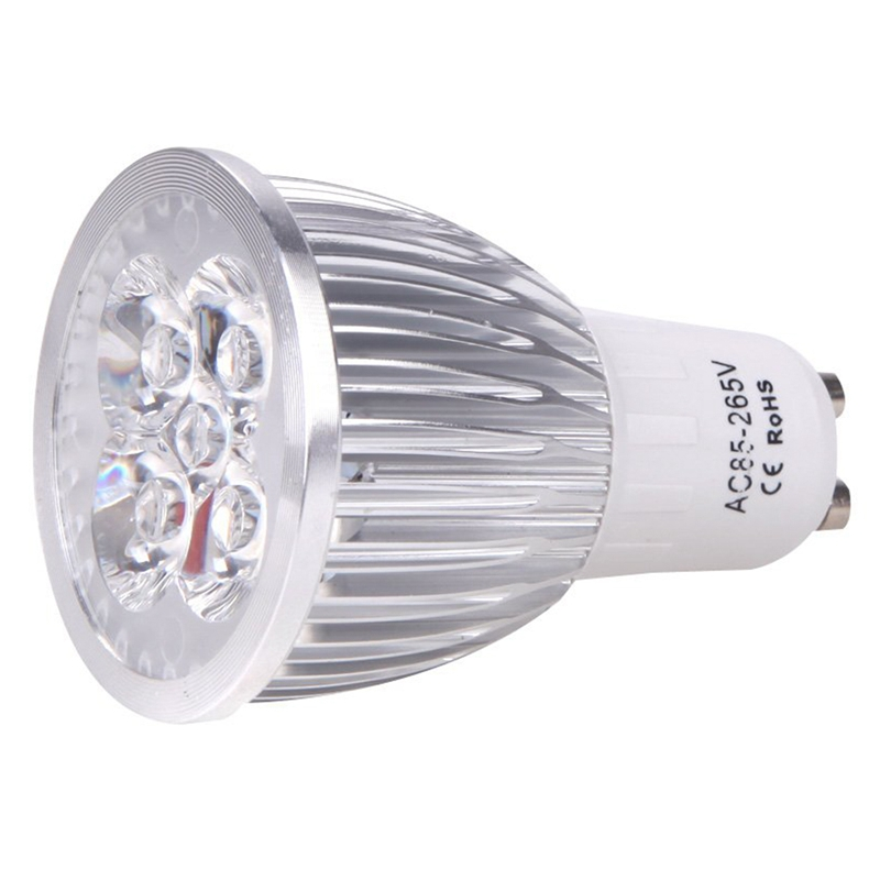 GU10 5W LED Plant Grow Light Hydroponic Lamp Bulb Energy Saving 4 Red 1 Blue For Indoor Flower Plants Growth Vegetable Greenhous