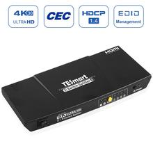Switch Splitter  2x4  TESmart Ultra HD HDMI CEC function HDCP 1.4 compliant, support CEC