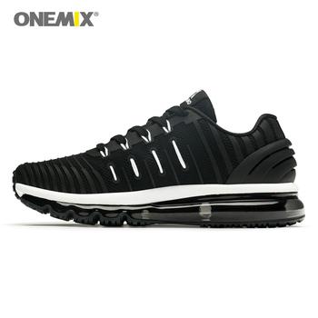 Hot Air Cushion męskie buty do biegania buty do biegania sportowe buty sportowe Zapatillas buty sportowe buty do chodzenia na świeżym powietrzu 2020 tanie i dobre opinie onemix CN (pochodzenie) LIFESTYLE Amortyzacja Do użytku na trawie na zewnątrz Zaawansowane Dla osób dorosłych oddychająca