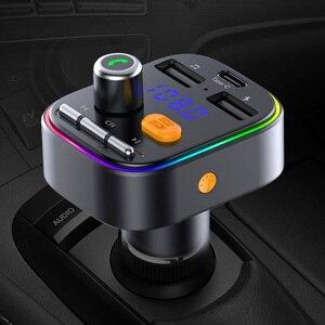 FM-трансмиттер CDEN PD20w с поддержкой Bluetooth и быстрой зарядки