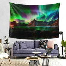 Tapestry Ornament Wall Hanging Tapestry Carpet Xmas Home Deocr Yoga Pad Bedspread Beach Mat Gift