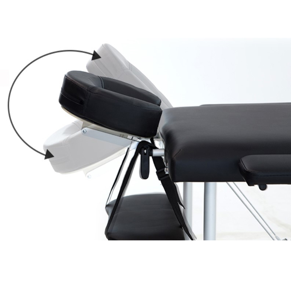 60CM Adjustable Massage Table Made Of PVC Leather And Aluminum alloy leg For Spa Tattoo 5