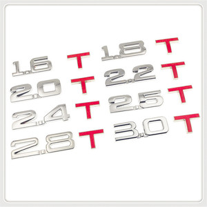 Стикер для Chevrolet Blazer Traverse Tahoe Equinox Trax Sonic, 3d-стикер с металлическим смещением 1,6 т, 1,8 Т, 2,0 т, 2,8 т для Chevrolet Blazer Traverse Tahoe Equinox Trax