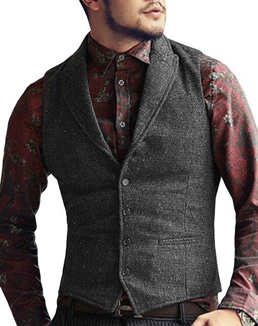 Mens-Suit-Vest-Lapel-V-Neck-Wool-Herringbone-Casual-Formal-Business-Vest-Waistcoat-Groomman-For-Wedding.jpg_640x640 (1)