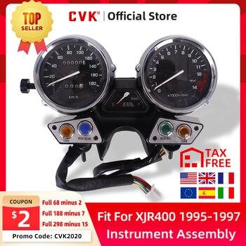 цена на CVK Instrument Assembly Gauges Meter Cluster Speedometer Odometer Tachometer For YAMAHA  XJR400 XJR 400 1995 1996 1997 95 96 97