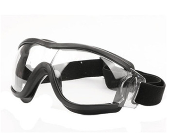 Child Anti Virus Safety Goggle Clear Glasses Eye Protect Work Lab Anti Dust