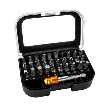 31 в 1 Набор Магнитных отверток высокого качества 25 мм набор адаптеров для ручных инструментов электрика