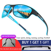 New Mens Polarized Sunglasses for Men Outdoor Sports Windproof Sand Goggle Sun Glasses UV Protection