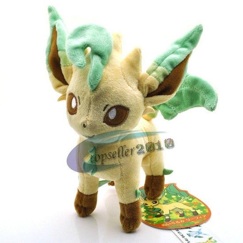 Takara Tomy PokemonPlush Doll Leafeon Eevee
