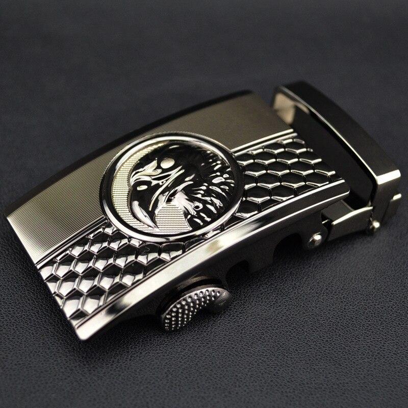 New Eagle Buckle Automatic Belt Head, Belt Buckle QD1510 Business Accessories Automatic Buckle Width 3.5CM Luxury Fashion