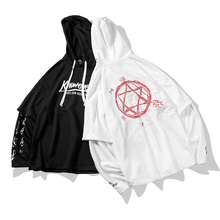 2019 estilo de verão hip hop sweatshirts dos homens streetwear hoodies manga longa pulôver outwear abz364