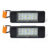 2Pcs Led Number License Plate Light For Mercedes Benz Sprinter(W906)(2006-2016)Vito(W639)(2003-2015)Viano(W639)(2003-2015)