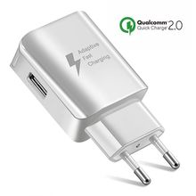 Universal USB Phone Charger EU US Plug Travel Wall Fast Char