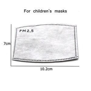 Image 3 - Tcare PM2.5 Kinderen Mond Masker Luchtwegen Klep Cartoon Panda Masker Warm Gezichtsmasker Past 3 15 Jaar Oude Kinderen