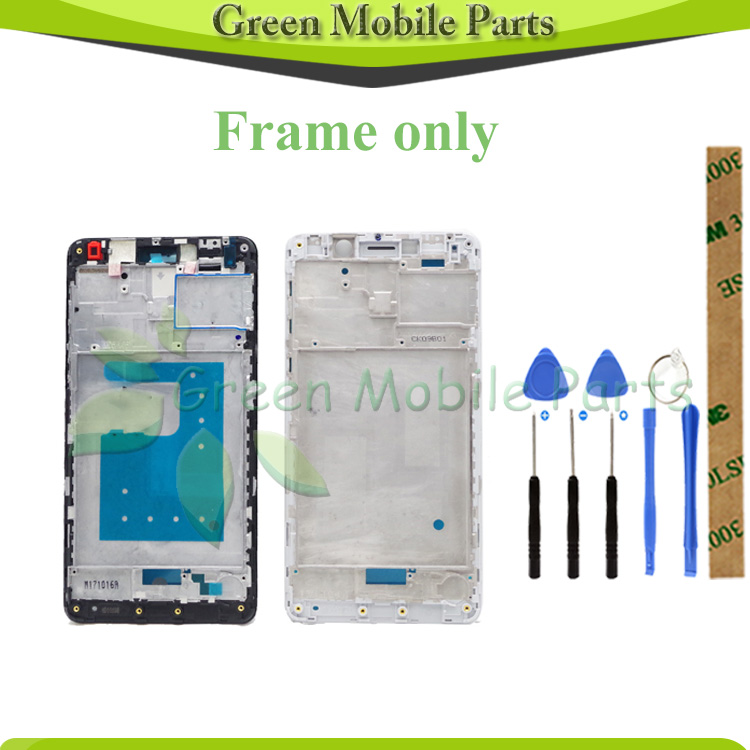 Good Quality Front Housing LCD Display Frame For <font><b>Huawei</b></font> <font><b>GR5</b></font> <font><b>2017</b></font> / Honor 6X Middle Frame Only Frame NO LCD image