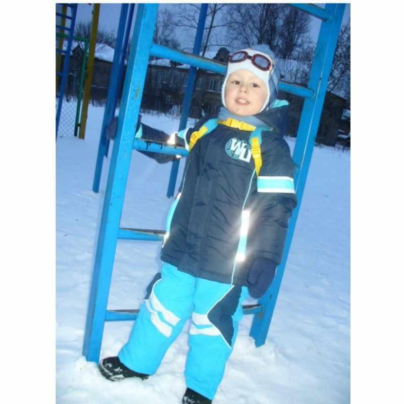 Mingkids ฤดูหนาวสำหรับ Boy เต็ม Windproof กันน้ำเด็กทารกฤดูใบไม้ร่วงหิมะส่งออกยุโรปคุณภาพ