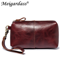 Genuine Leather Clutch Bags for Men Hand Bag