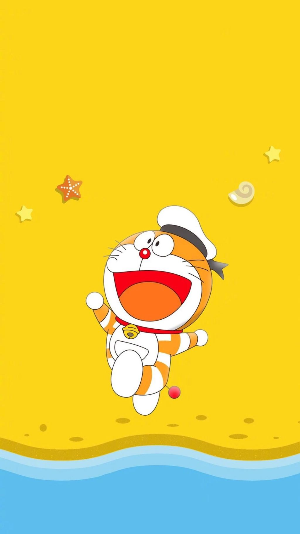 哆啦A梦壁纸:可爱哆啦A梦蓝胖子手机壁纸插图83