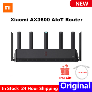 Xiaomi AX3600 AIoT Router Wifi6 5G WPA3 Wifi6 600Mb Dual-Band 2976Mbs Gigabit Rate Qualcomm A53 External Signal Amplifier Modem