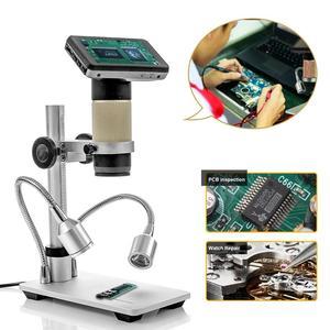 Image 1 - Andonstar Digital USB/HDMI Mikroskop ADSM201 3 zoll Display DIY Eletronics THT SMD Werkzeug Für Telefon Reparatur SMT PCB Löten