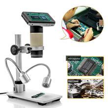 Andonstar Microscope numérique USB/HDMI ADSM201, écran de 3 pouces, outil de bricolage électronique THT SMD pour le soudage des PCB SMT et réparation des téléphones
