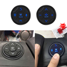 цена на 3S Universal Car Steering Wheel Controller 5Key Music Wireless DVD GPS Navigation Steering Wheel Radio Remote Control Buttons