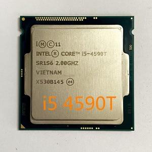 Intel core i5-4590T i5 4590 t 2.0 ghz quad-core quad-thread processador cpu 6 m 35 w lga 1150