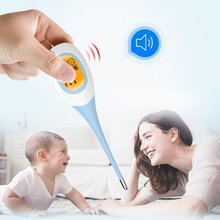 1PC Digital Baby Electronic Oral Thermometer LCD Large Screen Display Accurate Clear Adult Body Safe Portable Mouth Thermometer