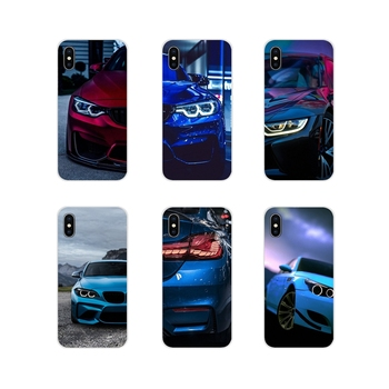 Accessories Phone Shell Covers Blue Red for Bmw For Samsung A10 A30 A40 A50 A60 A70 M30 Galaxy Note 2 3 4 5 8 9 10 PLUS image