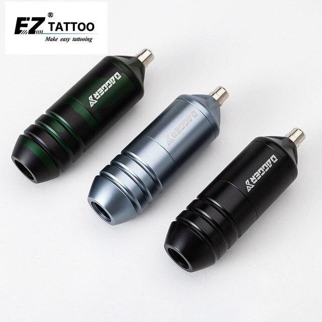EZ פגיון X/Y FAULHABER מנוע מחסנית קעקוע מכונת עט רירית הצללת עבור מחסנית מחט עם 1pcs EZ מאסטר קליפ כבל