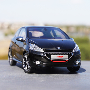 1:18 PEUGEOT 208 GTI 2013 PEUGEOT Alloy Diecast Metal Car Model For Boys Gifts Toy Collection Original Box 1