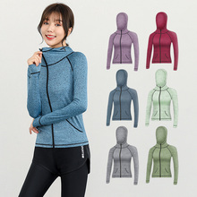 Sports Jacket Running-Clothes Fitness Quick-Dry Winter Woman Ladies New Autumn Gym And