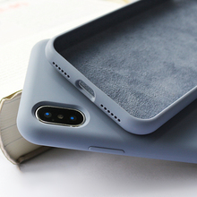Original Liquid Silicone Case for Apple iPhone