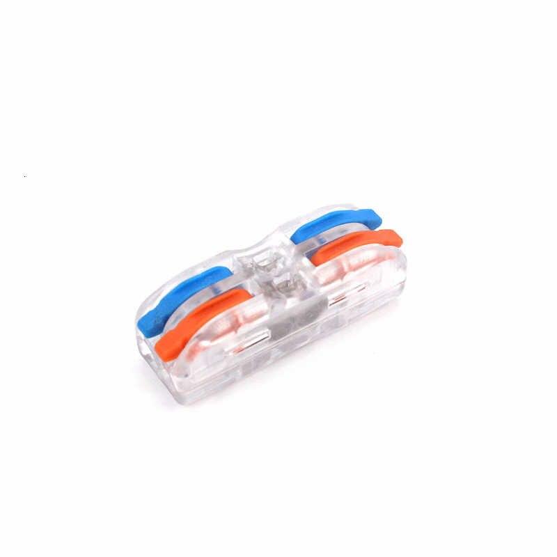 Connecteur de fil de câble électrique, 222, 223, câblage universel rapide, conducteurs compacts, bornier à insertion, SPL-2 3