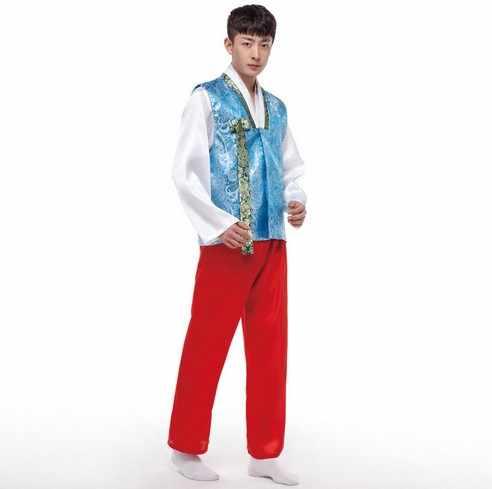 2016 חדש עיצוב חדש מסורתי קוריאני גבר Hanbok תפור לפי מידה חתן חתונה Hanbok עבור גברים