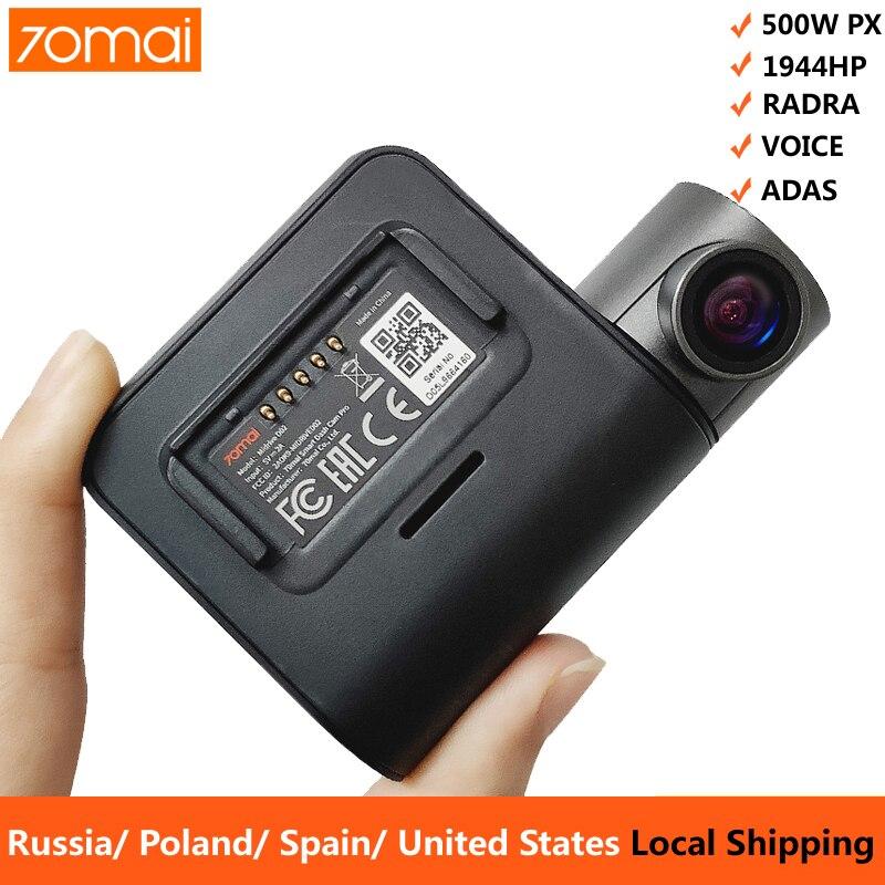 70mai Pro Dash Cam 1944P GPS ADAS Car Camera Dvr 70 mai Pro Auto Dashcam Voice Control 24H Parking Monitor WIFI Vehicle Camera