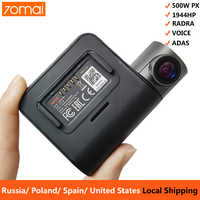 70mai Pro cámara de salpicadero 1944P GPS ADAS de la cámara del coche Dvr 70 mai Pro Auto cámara de Control de voz 24H Monitor de aparcamiento WIFI de la cámara del vehículo