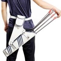 Recurve Bow Arrow Sac Bag Waist Cross Arrow Quiver Outdoor Hunting Holder Bag Right Hand Archery Supplies