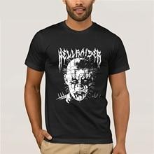 Hellraiser Pinhead Horror T Shirt Guys Simple Tee Shirts Home Wear Summer Loose T-Shirts Mens Crew Neck Novelty Dad