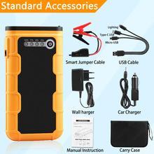 AsperX 12V 13000mAh Jump Starter Booster Car Starter Battery Auto Power Bank Launcher